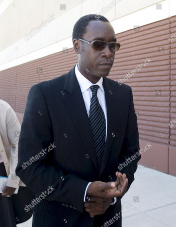 Us Actor Don Cheadle Arrives For the Memorial Service For Us Actor and Comedian Bernie Mac at the House of Hope Church in Chicago Illinois Usa 16 August 2008 Mac 50 Died in a Chicago Hospital On 09 August From Complications Due to Pneumonia