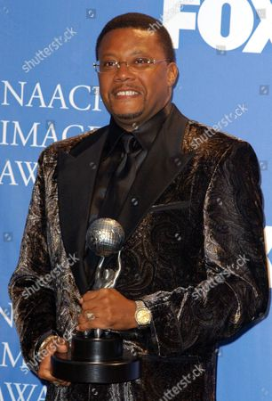 Judge Mathis in the Pressroom at the 35th Annual Naacp Image Awards Held at the Universal Ampitheatre in Universal City Late 06 March 2004 Judge Mathis Won an Award For Best T V News Talk Or Information Show