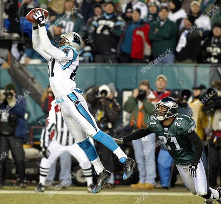 Editorial picture of Usa Nfl Nfc Panthers Eagles - Jan 2004