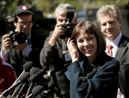 New York Times Reporter Judith Miller Speaks to Reporters Outside the Federal Courthouse in Washington Dc After She Testified Before a Grand Jury Ending Her Silence in the Investigation Into Whether White House Officials Leaked the Name of a Covert Cia Agent On Friday 30 September 2005 Miller Who Spent 85 Days in Jail Said She Agreed to Meet with the Grand Jury After Hearing From Her Source That She Should Cooperate with the Investigation by Special Counsel Patrick Fitzgerald