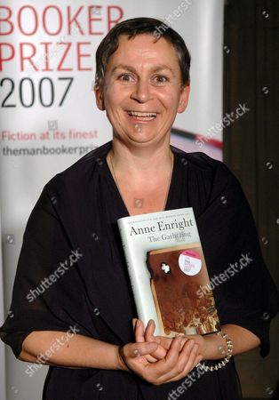 2007 Winner Irish Writer Anne Enright Poses For Photographers After the 2007 Man Booker Prize Awards Ceremony Held at East London's Guildhall Britain 16 October 2007 Her Winning Book 'The Gathering' is a Family Epic Tracing the the Line of Hurt and Redemption Through Three Generations the Man Booker Prize is One of the Most Prestigious Literary Awards Now in Its 39th Year It Aims to Reward the Best Novel of the Year Written by a Citizen of the Commonwealth Or the Republic of Ireland and Comes with a ú50 000 Prize