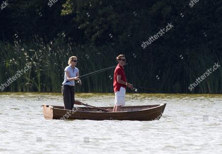 Count Jefferson von Pfeil and Princess Alexandra Rosemarie Ingrid Benedikte of Sayn-Wittgenstein