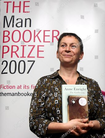 Booker Prize Nominee Anne Enright 'The Gathering' Poses For Photographs at a Photo Call in London Britain 16 October 2007 the Winner of the Man Booker Prize Will Be Announced at Guildhall at 23:00 Gmt 16 October 2007