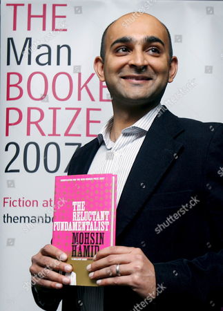 Booker Prize Nominee Mohsin Hamid 'The Reluctant Fundamentalist' Poses For Photographs at a Photo Call in London Britain 16 October 2007 the Winner of the Man Booker Prize Will Be Announced at Guildhall at 23:00 Gmt 16 October 2007