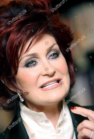 Editorial picture of Britain Sharon Osborne Survivor - Dec 2007