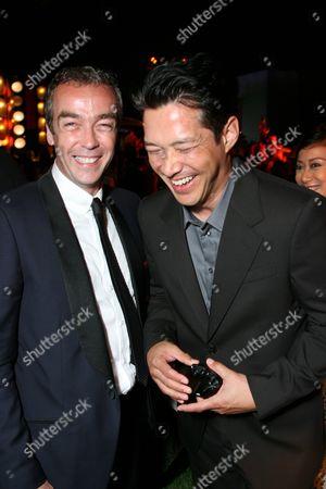 John Hannah and Russell Wong