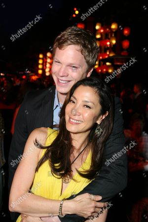 Luke Ford and Michelle Yeoh