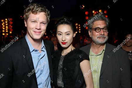 Luke Ford, Isabella Leong and Producer Sean Daniel