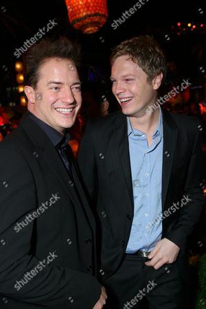 Brendan Fraser and Luke Ford