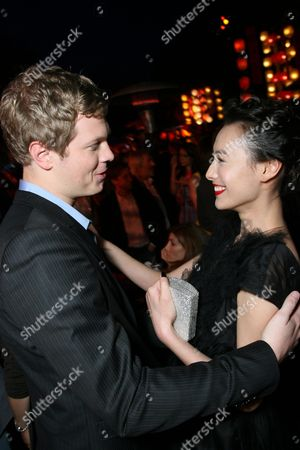 Luke Ford and Isabella Leong