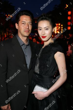 Russell Wong and Isabella Leong