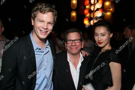 Luke Ford, Producer Bob Ducsay and Isabella Leong