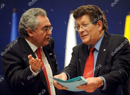 Editorial photo of Spanish Minister For Justice Mario Fernandez Bermejo - Jan 2009
