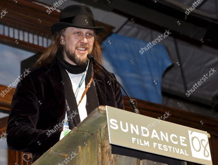 Cinematographer Steven Sebring Receives the Excellence in Cinematographer Award: Documentary For the Film 'Pattie Smith: Dream of Life' at the 2008 Sundance Film Festival Awards Night in Park City Utah Usa 26 January 2008