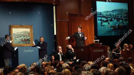 Editorial photo of Usa New York Sotheby's Auction - May 2004