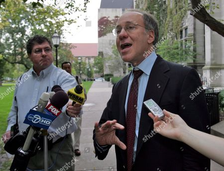 Editorial picture of Usa Nobel Prize Roger Myerson - Oct 2007