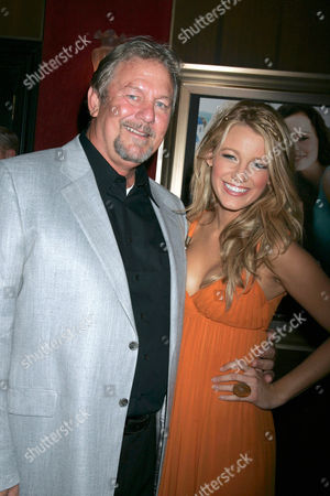 Ernie Lively and daughter Blake Lively