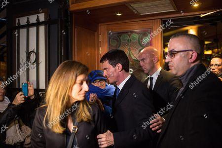 Anne Gravoin and Manuel Valls