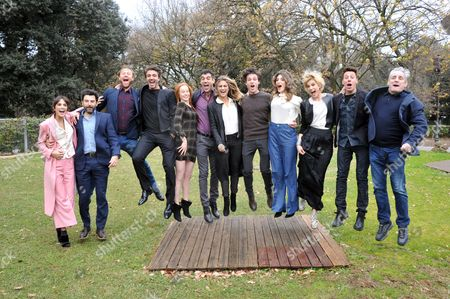 Editorial picture of 'One Step From Heaven' TV series photocall, Rome, Italy - 13 Jan 2017