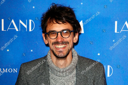 "French director and producer Hugo Gelin poses during a photo call for the French premiere of ""La La Land"" in Paris"