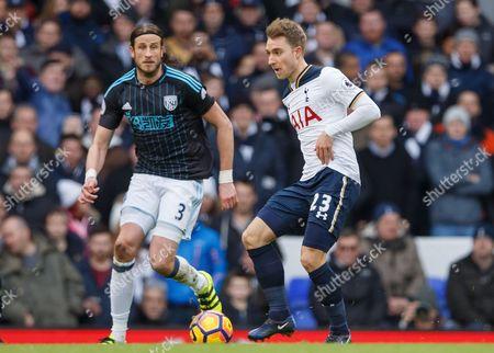 Editorial photo of Football - Premier League 2016/17 Tottenham Hotspur v West Bromwich Albion White Hart Lane, 748 High Rd, London, United Kingdom - 14 Jan 2017