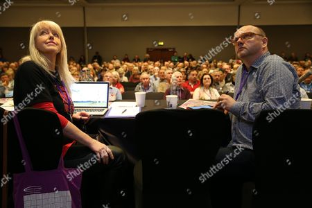 Lesley Riddoch (radio broadcaster and journalist) and Pat Kane (Hue and Cry)