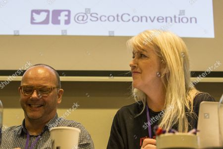 Pat Kane (Hue and Cry), and Lesley Riddoch (radio broadcaster and journalist)