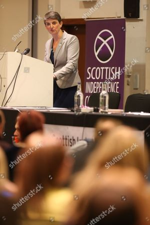Maggie Chapman, co-convenor of the Scottish Green Party