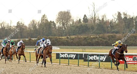 SKIDBY MILL (George Baker) wins The 32Red.com Fillies Handicap Lingfield