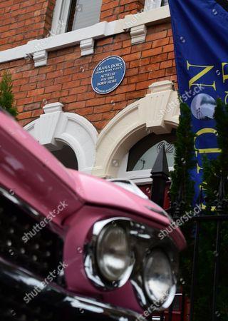 Diana Dors' blue plaque