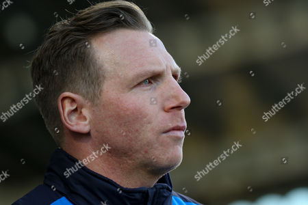 Chesterfield caretaker Manager Ritchie Humphreys during the EFL Sky Bet League 1 match between Chesterfield and Coventry City at the Proact stadium, Chesterfield