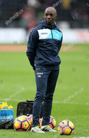 Swansea Coach Claude Makelele.