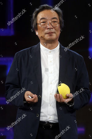 Editorial picture of Toru Iwatani, creator of Pac Man video game talks in Chile, Santiago - 14 Jan 2017