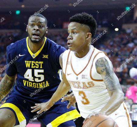 Editorial picture of NCAA Basketball West Virginia vs Texas, Austin, USA - 14 Jan 2017