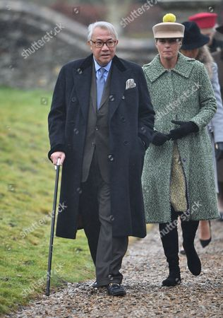 Editorial image of Royals attend Sunday Service at Flitcham Church, Norfolk, UK - 15 Jan 2017