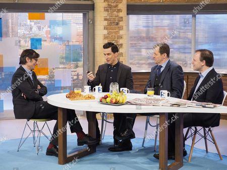 Editorial photo of 'Peston On Sunday' TV show, London, UK - 15 Jan 2017
