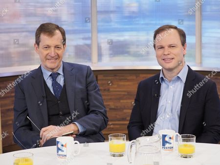 Stock Image of Alastair Campbell and Sir Craig Oliver