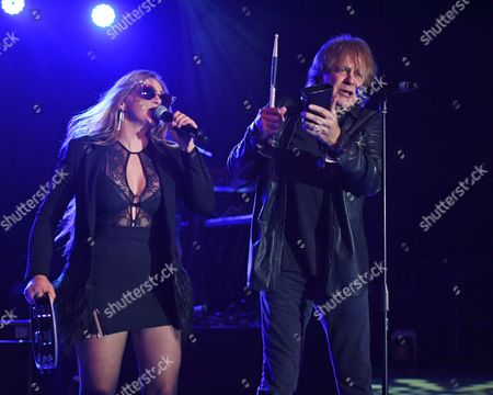 Editorial photo of Eddie Money in concert at The Pompano Beach Amphitheater, Florida, USA - 14 Jan 2017