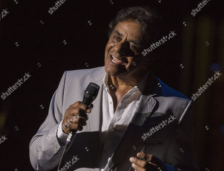 Stock Photo of Johnny Mathis performs during his Voices of Romance Tour at the Lakeland Center in Lakeland, Florida