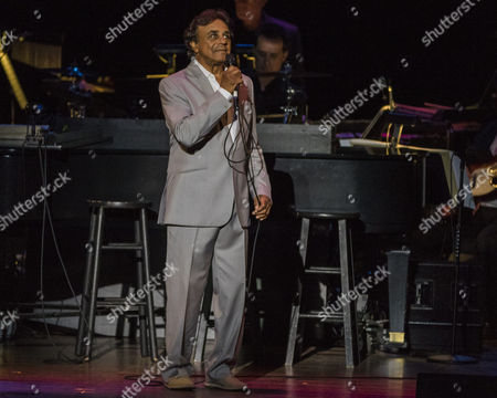 Johnny Mathis performs during his Voices of Romance Tour at the Lakeland Center in Lakeland, Florida