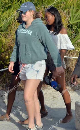 Editorial image of Sasha Obama out and about, Miami, USA - 14 Jan 2017