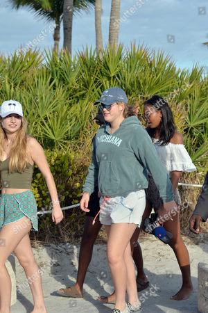 Editorial photo of Sasha Obama out and about, Miami, USA - 14 Jan 2017