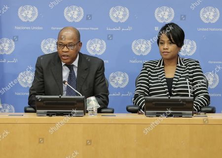 Editorial picture of West Africa developments press conference, United Nations, New York, USA - 13 Jan 2017