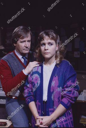 William Roache (as Ken Barlow) and Wendy Jane Walker (as Susan Barlow)