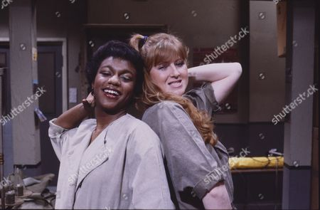 Stock Photo of Lisa Lewis (as Shirley Armitage) and Brenda Walton (as Donna)