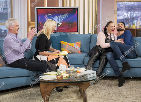 Phillip Schofield, Holly Willoughby, Michelle John and Rylan Clark