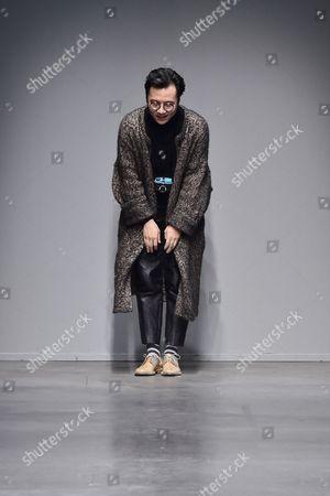 Editorial image of Miaoran show, Autumn Winter 2017, Milan Fashion Week Men's, Italy - 16 Jan 2017