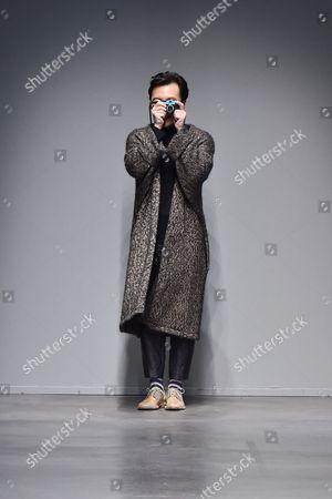 Stock Photo of Miao Ran on the catwalk