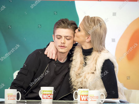Stock Picture of Kai Westbrook and Danniella Westbrook