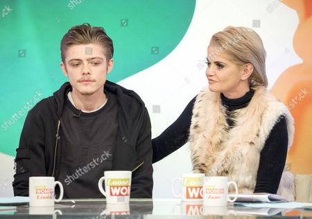 Editorial photo of 'Loose Women' TV show, London, UK - 16 Jan 2017